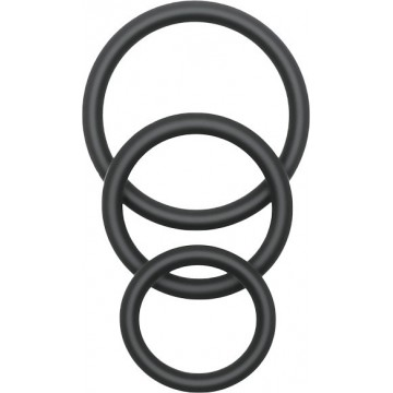 Trio de Anéis Pleasure